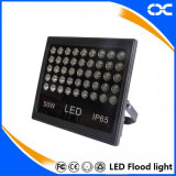 al aire libre luz de inundación de la iluminación LED del proyecto de la cartelera de la lámpara 50W