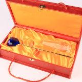 Kristallrosen-Blumen-Geschenk des roten blauen romantischen Hochzeits-Bevorzugungs-Geburtstag-Valentinsgrußes