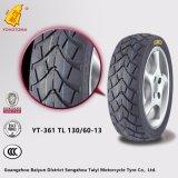 Neumático resistente Tl 130/60-13 de la motocicleta