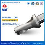 Indexable модель Ud20 сверла Drilling инструментов u. Sp11.340. W32 от Zhuzhou Sant с вставкой Spgt110408 или Spmg110408 карбида