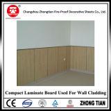 Laminado impermeable del compacto para la pared Caldding