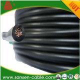 Mt Tri-Rated - cabo flexível preto do PVC Calibre de diâmetro de fios 14 de H05V2-K/H07V2-K/BS6231 UL1015 CSA 22.2