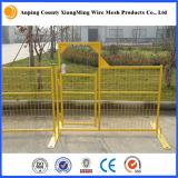 Da construção provisória da cerca de Canadá cerco provisório com base da cerca e grampo da parte superior