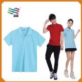 Maglietta uniforme personalizzata di polo della tuta del lavoro del Workwear della maglia del piquè del cotone (HYT-s 023)