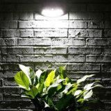 Indicatore luminoso impermeabile della scala di punto di obbligazione dell'indicatore luminoso della parete del sensore di movimento di energia solare 8 LED PIR della lampada del giardino di illuminazione esterna