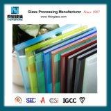 상업적인 건물을%s 도매 다채로운 안전에 의하여 부드럽게 하는 박판으로 만들어진 유리