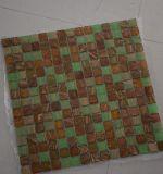 Mattonelle di vetro della decorazione del mosaico di arte dell'ente completo caldo della fusione di modo