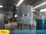 3000 litros de S. S de 316 buques tanque de mezcla de reacción vasija del reactor