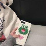 3D couvertures personnalisées de mobile de synthons du dessin animé DIY pour l'iPhone