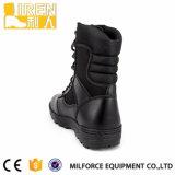 De zwarte Nylon Tactische Laarzen van de Politie van de Stof