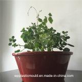 庭のホーム装飾(HP-05)のための円形の赤いプラスチック植木鉢