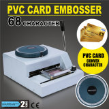 Vevor Embossing Machine 68 Personnages Carte Embosser Printer Carte en PVC Embosser Stamping Machine Carte d'identité VIP Magnetic Embossing