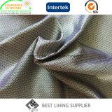 El 55% Poliéster 45% Viscosa Mini-Jacquard tejido de revestimiento para la moda de chaqueta y Traje