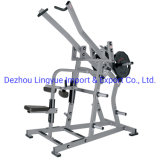 Professional Ginásio Fitness placa equipamento carregado ISO-Lateral Ampla Pulldown L-904