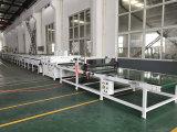 Ligne d'extrusion de plancher de sol en PVC avec ligne de revêtement UV