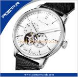 アーチ形にされたダイヤルおよび指標の日本骨組自動腕時計