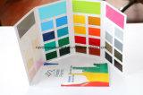 Cartão de cor de pintura de impressão dobrada personalizada de alta qualidade