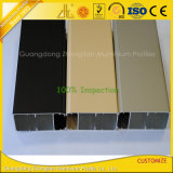 Matt-Elektrophorese-Aluminiumprofil für Spitzenfenster-und Tür-Dekoration
