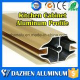 Uso de alumínio do perfil da mobília para o perfil da borda do frame de gabinete