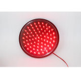 300mm wasserdichtes grünes Lampwick LED Verkehrszeichen-Licht