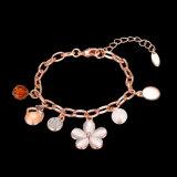 Nam de Gouden Armband van Hotsale de Gouden Geplateerde Armband van Vrouwen toe