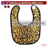 パーティーLeopardのよだれかけエプロンのための赤ちゃんの服ベビービブ(A1055A)
