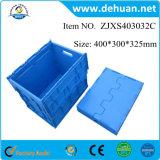 Caixa plástica Foldable da fruta plástica Foldable dos recipientes de armazenamento