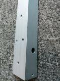 profil en forme de L en aluminium argenté de cornière anodisé par 6061t6 avec la commande numérique par ordinateur