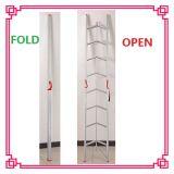 Escalera de aluminio plegable del paso de progresión de la escala del paso de progresión