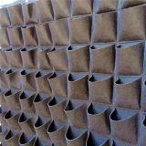 屋内屋外の壁掛けプランター袋のプラントは袋を育てる