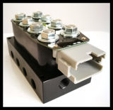 Válvulas electromagnéticas de Accuair Vu4, válvulas multíples del sistema de suspensión, válvula del paseo del aire, empaquetada