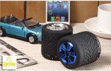 GSの新しい小道具の円形の小型Bluetoothのスピーカーの可聴周波タイヤのスピーカー