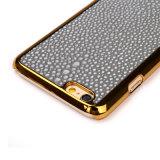Cassa di cuoio del telefono per l'accessorio del Mobile di iPhone 7 di Samsung S8
