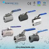 Robinets à billes en acier inoxydable à 1PC / 2PC / 3PC avec Ce