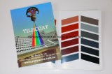 Servizio di stampa del catalogo piegato della vernice del tetto di architettura