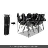 3x4.5m Hot Sale de poteaux en acier tente de pliage facile jusqu'Gazebo