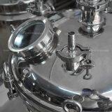 Tanque esterilizador depósito mezclador de productos químicos para la industria química tanque agitador química