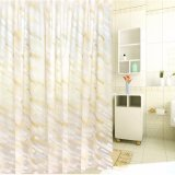 Tenda di acquazzone impermeabile della stanza da bagno della Anti-Muffa moderna PEVA di stile (15S0043)