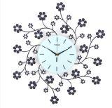 熱い販売の美しい花の金属のデジタル時計