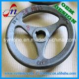 Processus de fonderie de sable Iron Hand Wheels