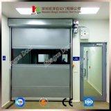 투명한 시각적인 고속 회전 셔터 문