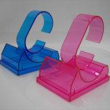Ясный или цветастый пластичный шкаф держателя индикации браслета вахты