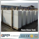 Lastra di pietra di vetro cristallizzata Nano bianca artificiale della Cina