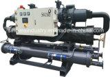Compressores de parafuso duplo Chiller resfriado a água para a Indústria de Plásticos