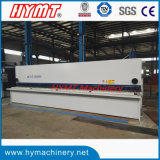 QC11Y-8X6000 type machine de découpage de tonte de machine/plaque en métal hydraulique de massicot