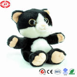Grey Cute Plush High Quality Cat Soft Stuffed CE Toy