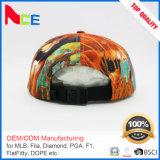 カスタム昇華印刷の高品質のナイロン急な回復の帽子