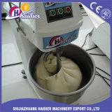 パンの使用法の螺線形の床の固定ボール25 50のKgのパンのペストリーの小麦粉の混合機械