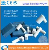 病院の消費可能な綿のガーゼの包帯ロール