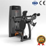 La fuerza material, máquina de ejercicio, sentados hombro pulse